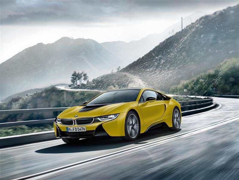 2017 BMW i8 Frozen Yellow Edition