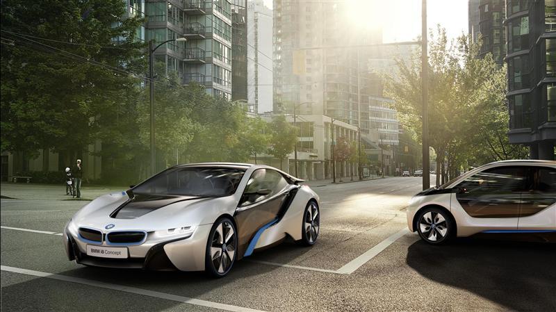 2012 BMW i8 Concept