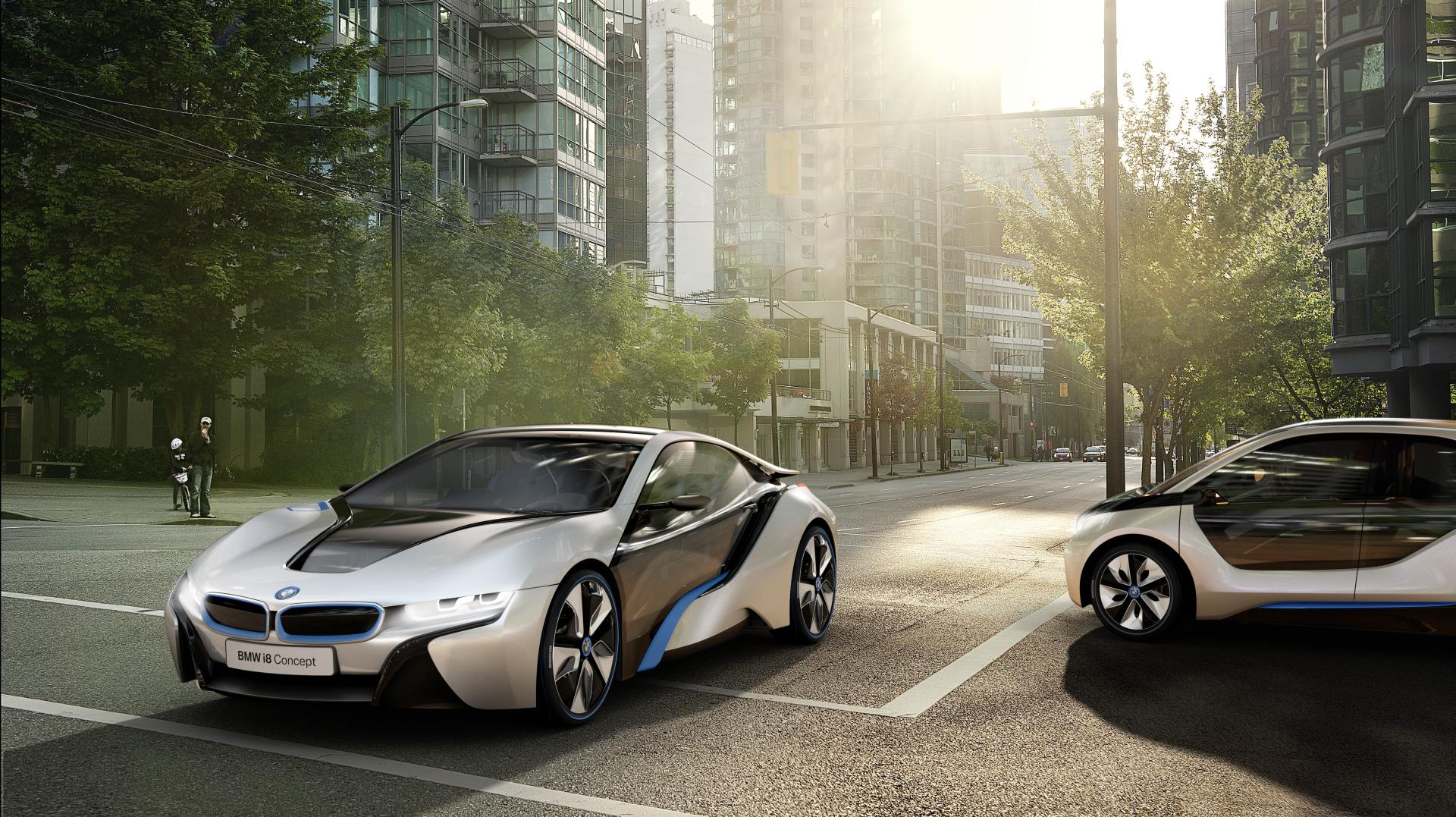 2012 BMW i8 Concept News and Information, Research, and History