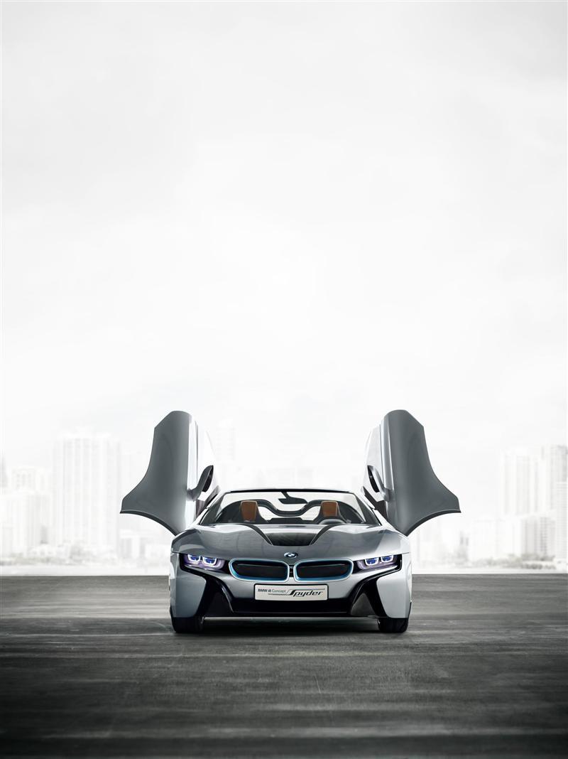 2012 Bmw I8 Concept Spyder Image Photo 28 Of 47