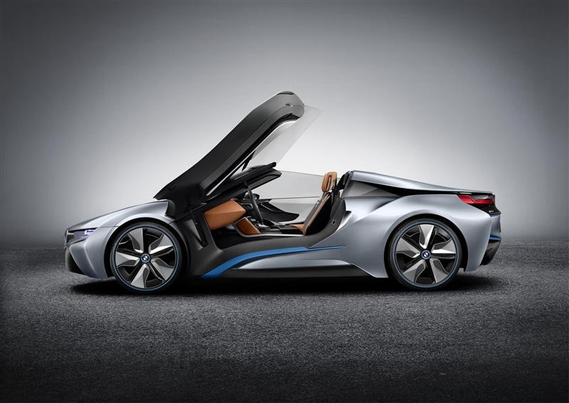 BMW i8 Concept Spyder pictures and wallpaper