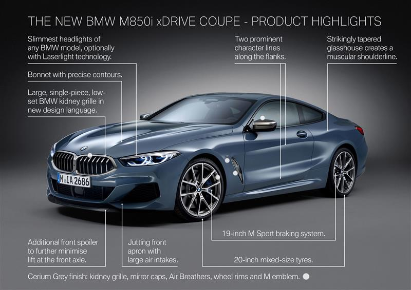 Bmw 8 Series Price >> 2018 BMW 8 Series Coupe Image. Photo 44 of 118