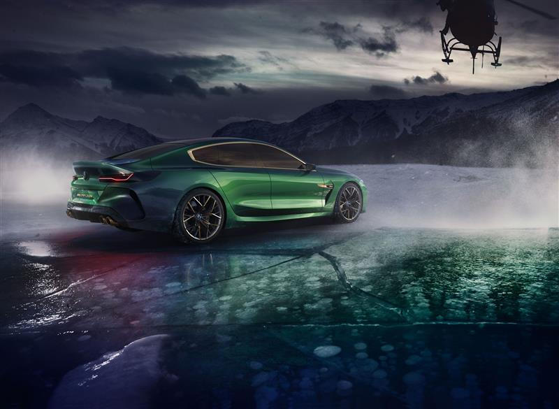 BMW Concept M8 Gran Coupe Pictures And Wallpaper