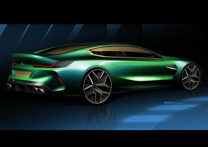 2018 Bmw Concept M8 Gran Coupe Image Photo 21 Of 25