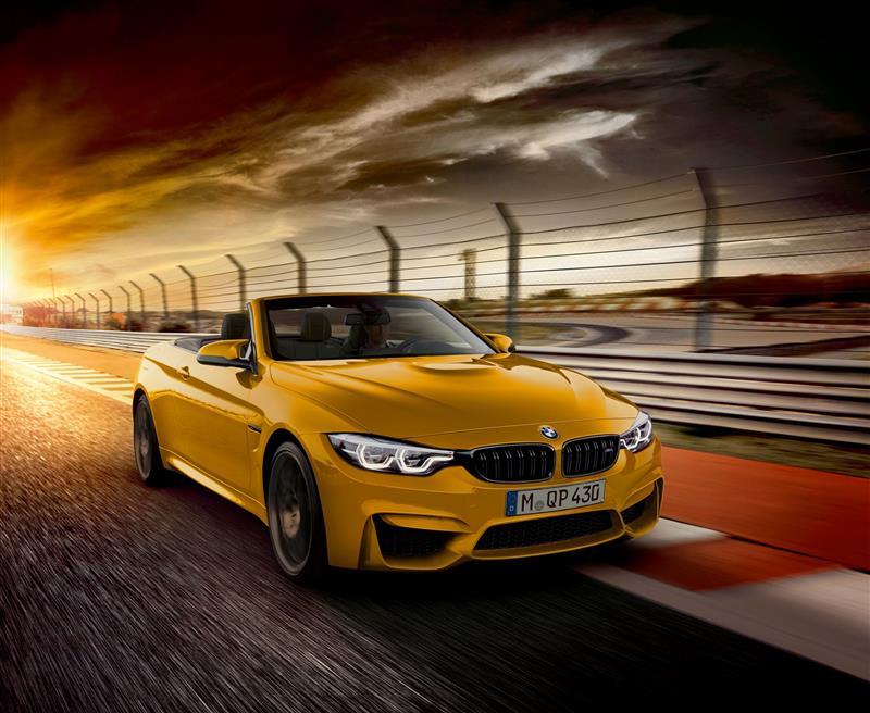 2018 BMW M4 Convertible Edition 30 Jahre