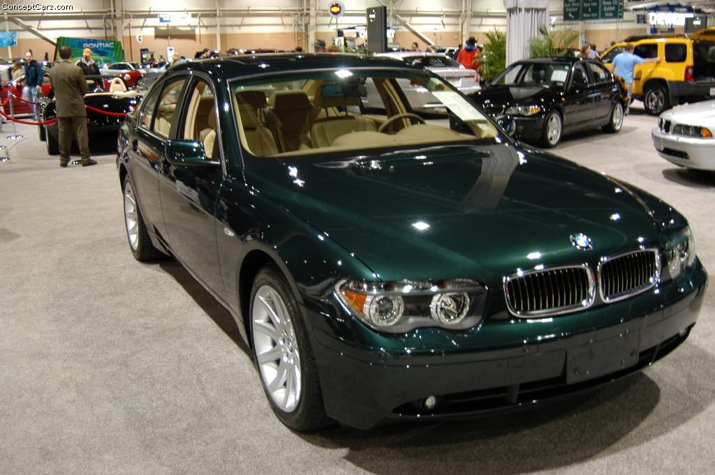 2003 Bmw 745 History Pictures Value Auction Sales