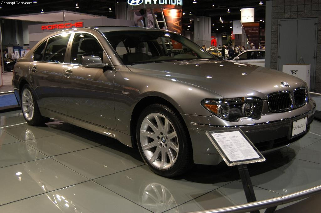 Auction Results And Sales Data For 2004 Bmw 7 Series