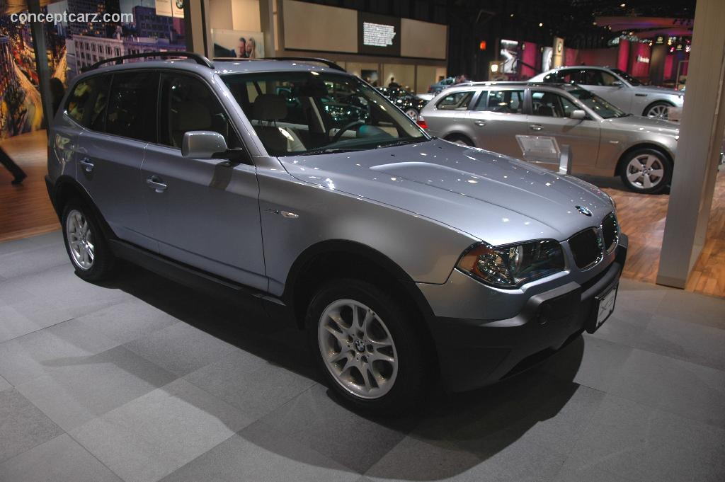auction results and sales data for 2005 bmw x3. Black Bedroom Furniture Sets. Home Design Ideas