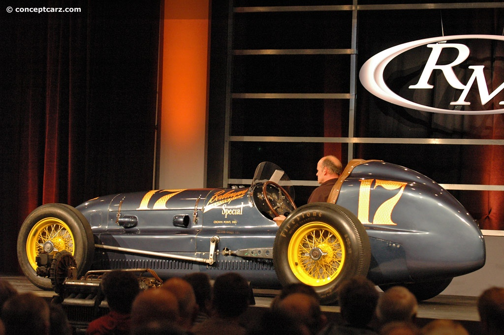 1930 Belanger Indy Special Image Chassis Number 1540