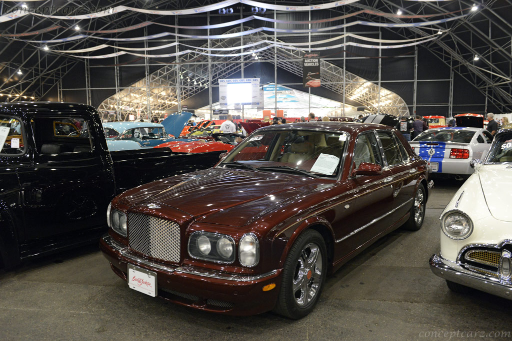 Auction Results And Sales Data For 2003 Bentley Arnage