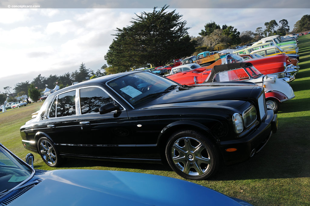 Auction Results And Sales Data For 2002 Bentley Arnage T