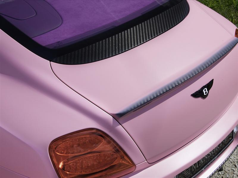 2009 Mansory Vitesse Rose Wallpaper And Image Gallery