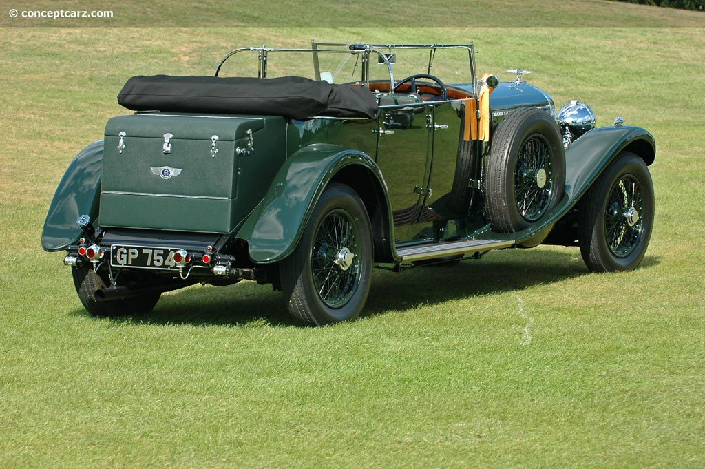 Auction Results And Sales Data For 1931 Bentley 8 Liter