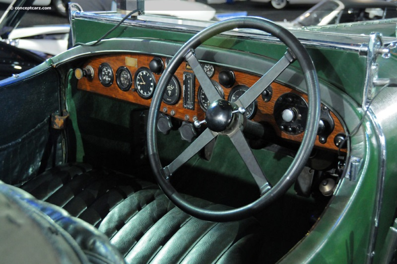 Chassis SM3916, engine SM 3922 1931 Bentley 4 5-Liter Blower