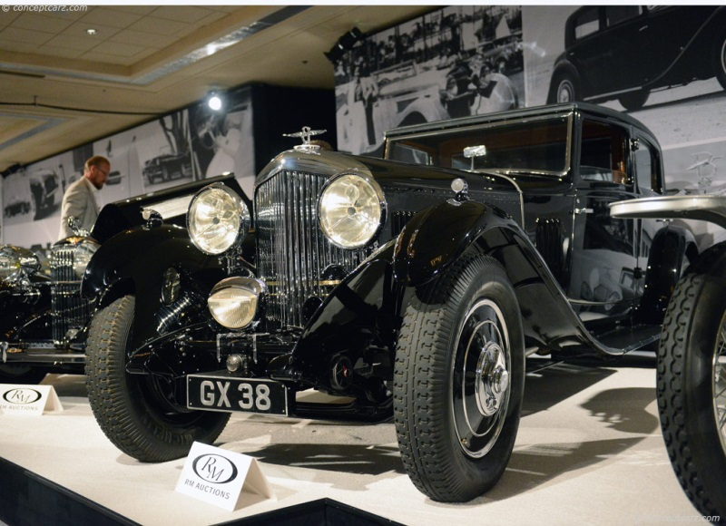 1932 Bentley 8 Litre History Pictures Value Auction Sales