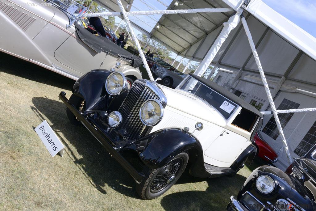 1936 Bentley 4¼ Liter