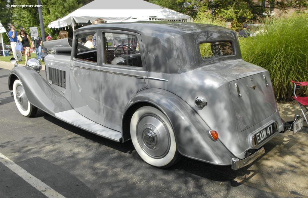 1937 Bentley 4¼ Liter