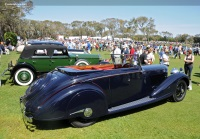 1938 Bentley 4.25-Liter.  Chassis number B92LS