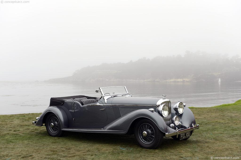 1939 Bentley 4 188 Liter Image Chassis Number B91 Mx