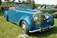 1939 Bentley Mark V.  Chassis number B14AW