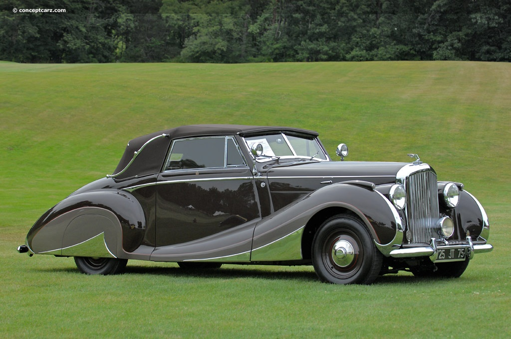 1947 Bentley Mark Vi Image Chassis Number B26bh