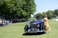1947 Bentley Mark VI.  Chassis number B25071