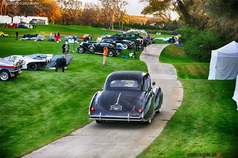 Chassis B 9AJ, engine B 65 A 1947 Bentley Mark VI chassis