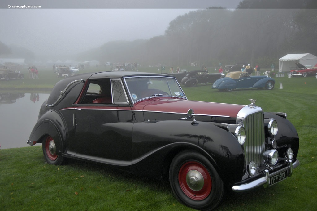 Auction Results And Sales Data For 1949 Bentley Mark Vi
