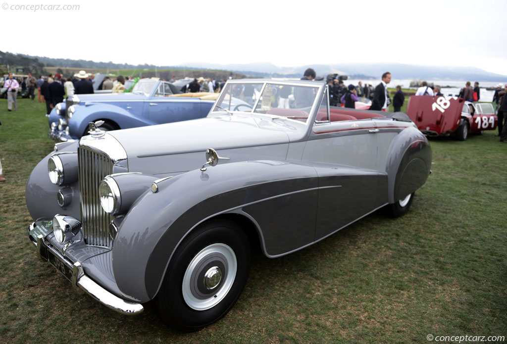 1952 Bentley Mark Vi Image Chassis Number B342nz