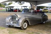 1952 Bentley Mark VI.  Chassis number B342NZ