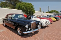 1961 Bentley S2.  Chassis number BC32LCZ