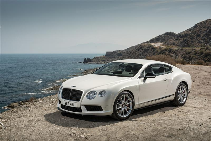 2014 Bentley Continental GT V8 S News and Information