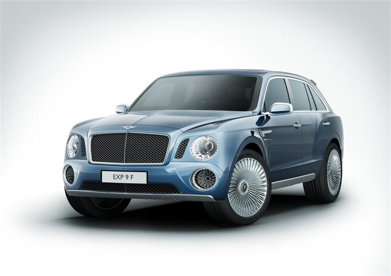 2012 Bentley EXP 9 F Concept News and Information, Research, and History