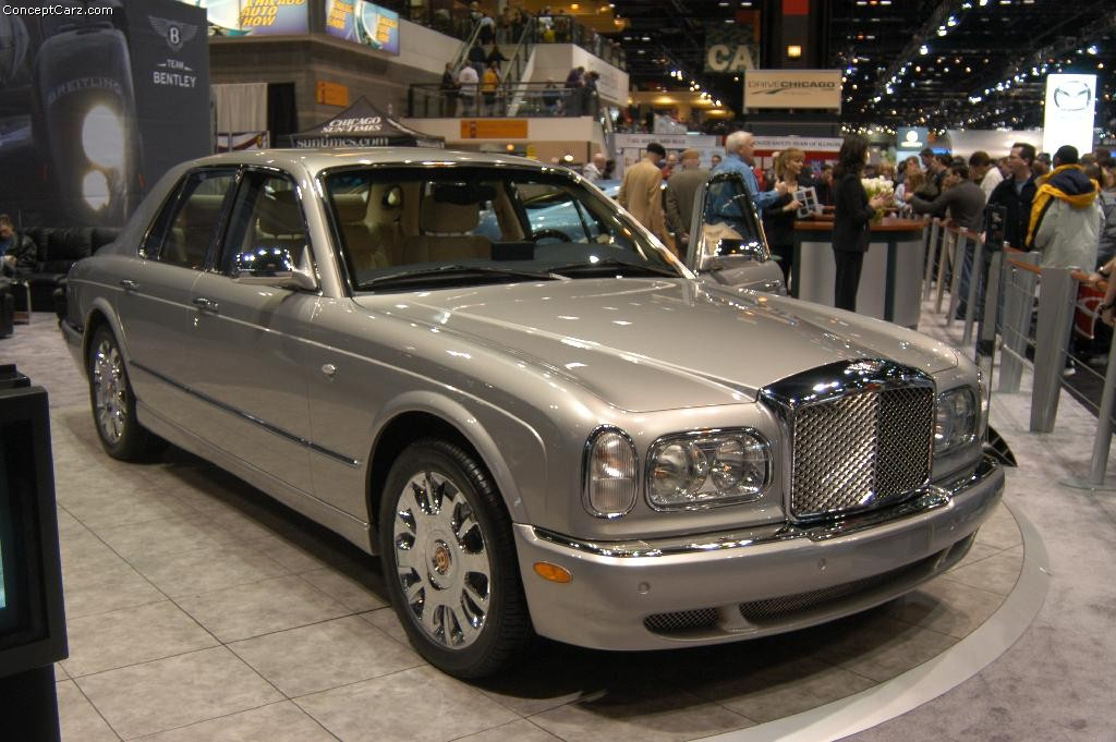 bentley arnage rl history pictures  auction sales research  news