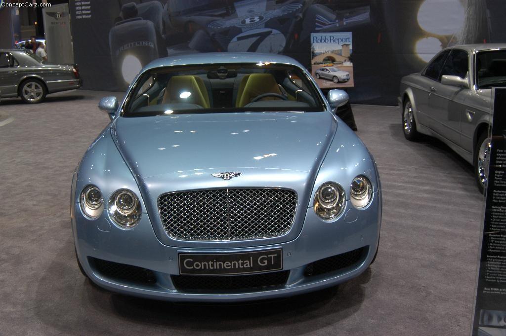 Bentley Car Wallpaper >> 2004 Bentley Continental GT Image. Photo 22 of 26