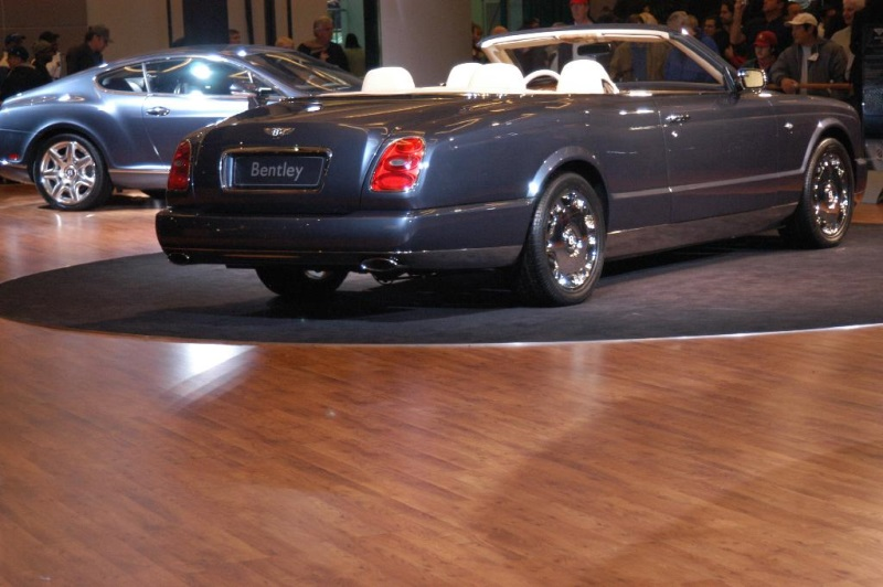 2005 Bentley Arnage Drophead Coup History Pictures Value Auction