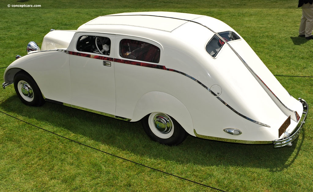 1932 Bergholt Streamline At The Concours D Elegance Of