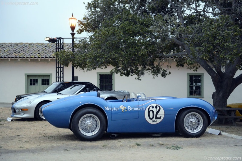Chassis 003. 1959 Bocar XP-5 chassis information