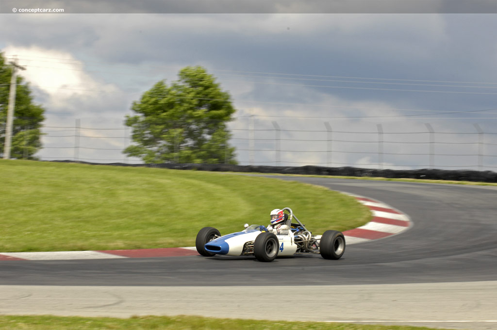 1967 Brabham Bt21 At The Mid Ohio Vintage Grand Prix