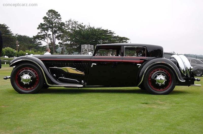 1932 Bucciali Tav 12 At The Pebble Beach Concours D Elegance