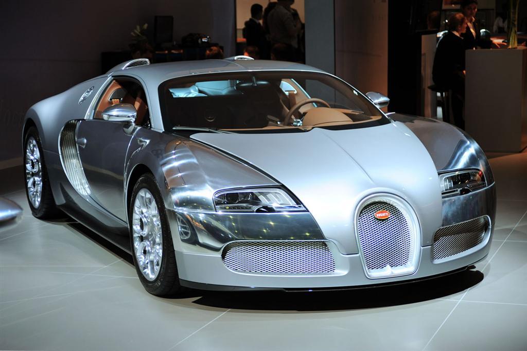 2010 Bugatti 16.4 Veyron Sang Du0027Argent