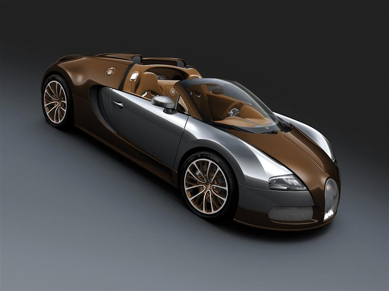 2012 bugatti veyron 16.4 grand sport brown carbon fiber and aluminum