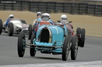 1925 Bugatti Type 35C.  Chassis number 4596