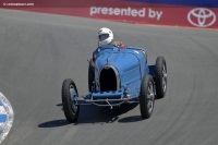 1925 Bugatti Type 35C.  Chassis number 4572