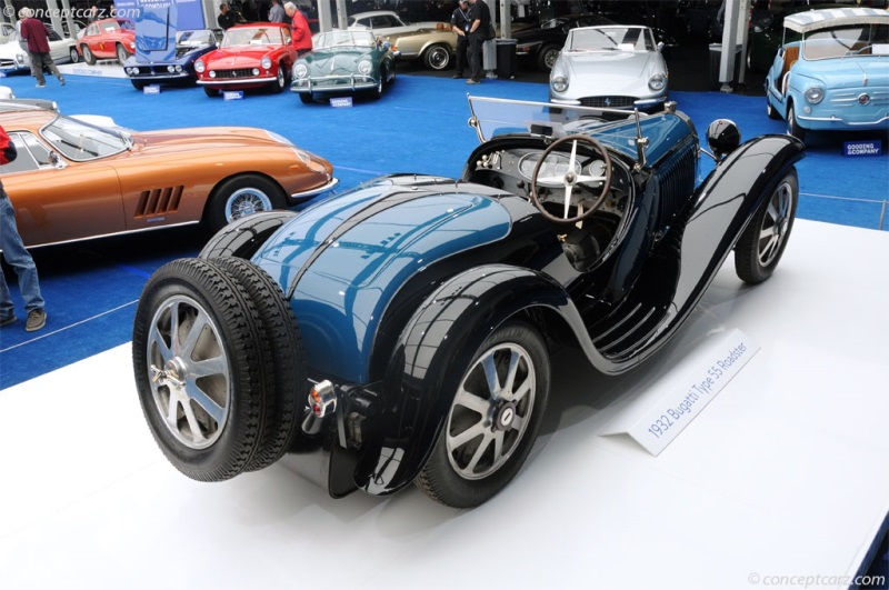 chassis 55213, engine 10. 1932 bugatti type 55 chassis information