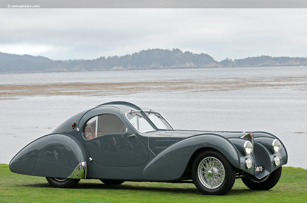 1937 Bugatti Type 57s Image Chassis Number 57473