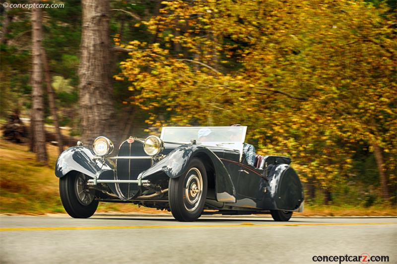 Bugatti Type 57SC pictures and wallpaper