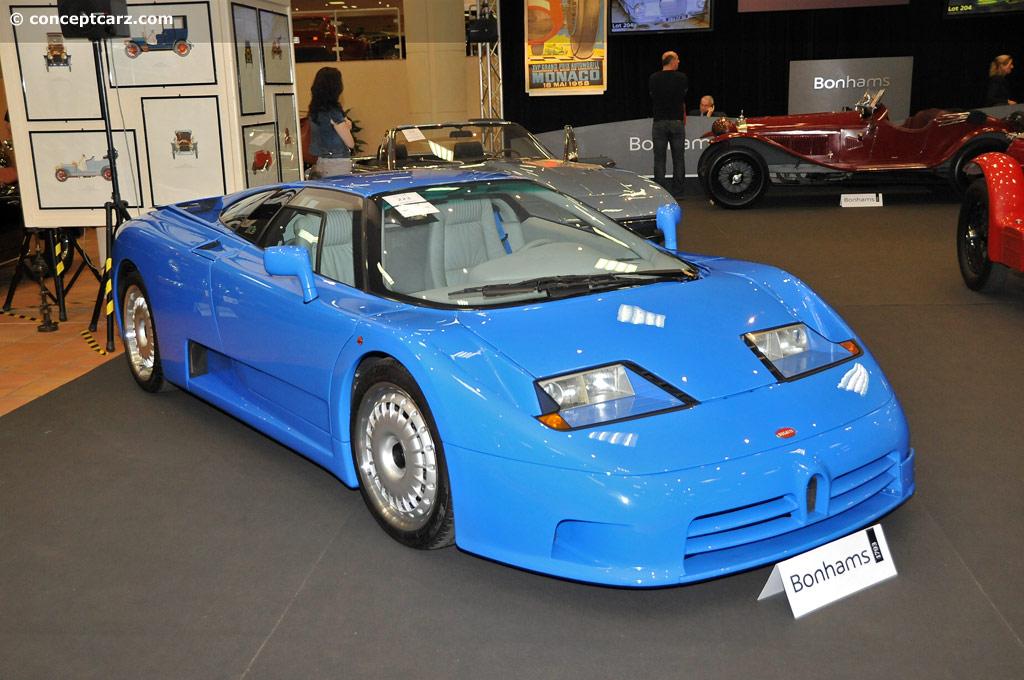 1992 bugatti eb110 gt at the bonhams - the monaco sale 'les