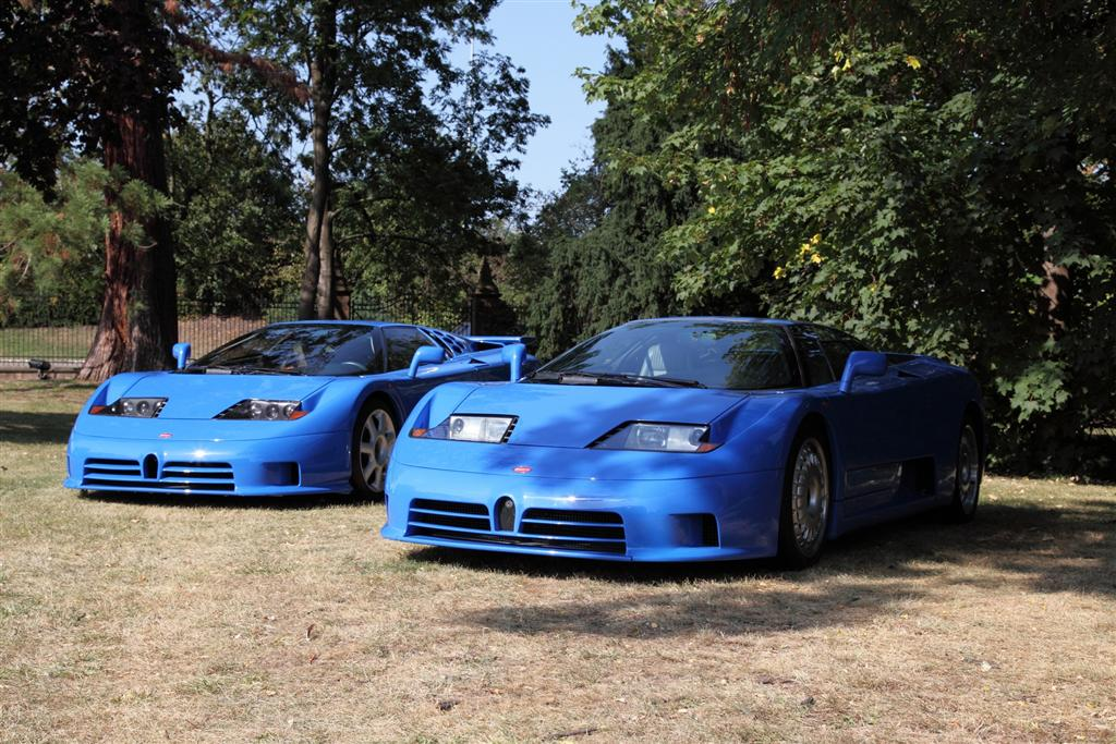 auction results and sales data for 1995 bugatti eb110 ss