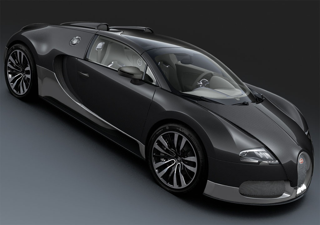 2010 Bugatti Veyron Grand Sport Grey Carbon